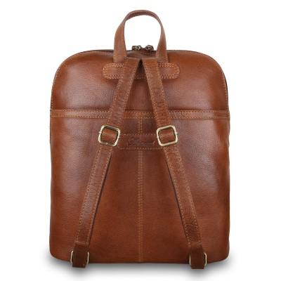Мужской рюкзак из натуральной кожи Ashwood Leather M-66 Tan