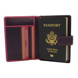 Обложка для паспорта Visconti RB75 Berry Multi