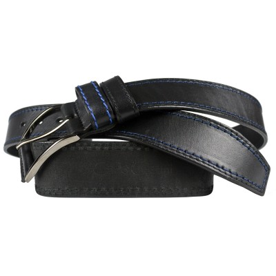 Кожаный мужской ремень Carlo Gattini Montalbo black (арт. 9007-01)