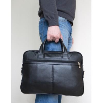 Мужская сумка Montesano black (арт. 1006-01)