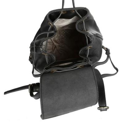 Мужской рюкзак из натуральной кожи RELS Geisha 84 0646