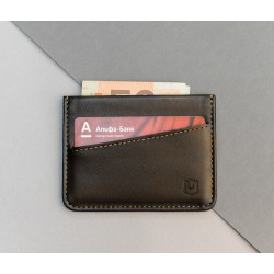 Кардхолдер Sneek slim wallet brown X tan
