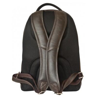 Мужской рюкзак из натуральной кожи Carlo Gattini Coltaro brown (арт. 3070-04)