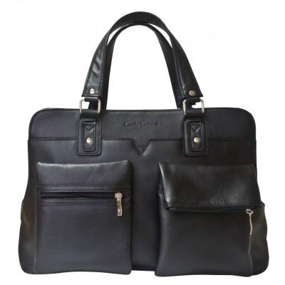 Мужская сумка Staffolo black (арт. 1011-01)