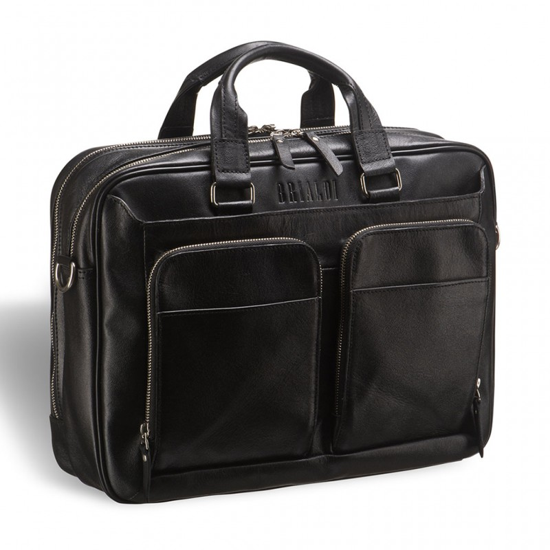 Деловая сумка BRIALDI Aspen (Аспен) black