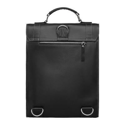 Мужской кожаный портфель Oxen Black
