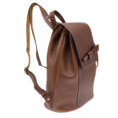Мужской рюкзак из натуральной кожи RELS Geisha 84 1359