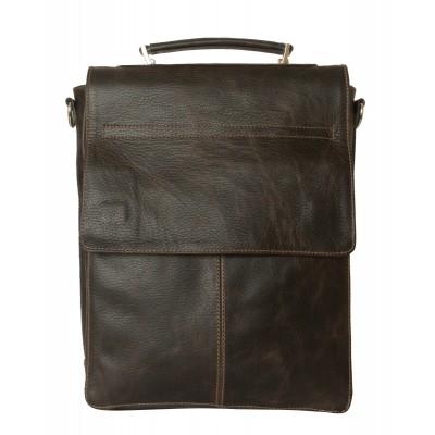 Кожаный портфель мужской Carlo Gattini Torrano brown (арт. 2013-04)