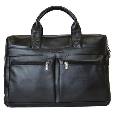 Мужская сумка Lugano black (арт. 1007-01)