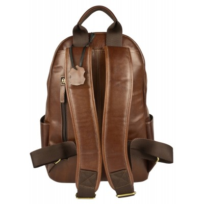 Кожаный рюкзак мужской Carlo Gattini Mantovano brown (арт. 3078-02)