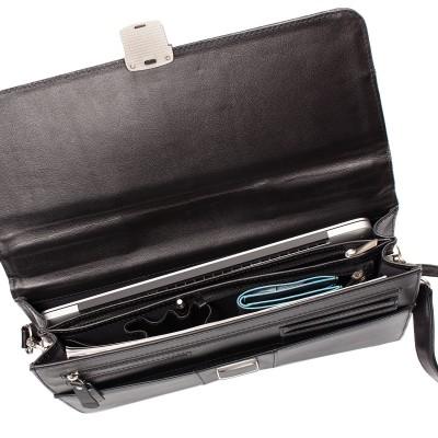 Кожаный портфель мужской Harmer Black