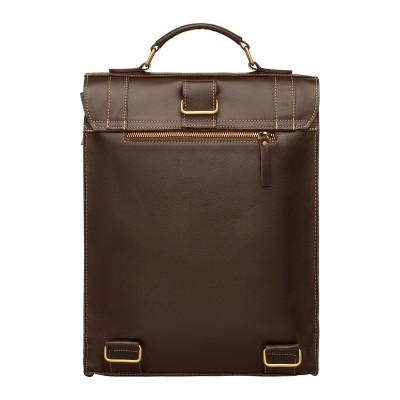 Мужской кожаный портфель Oxen Brown