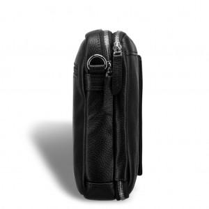 Сумка через плечо mini-формата BRIALDI Montone (Монтоне) relief black