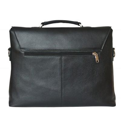 Кожаный портфель мужской Carlo Gattini Ferentillo black (арт. 2024-01)