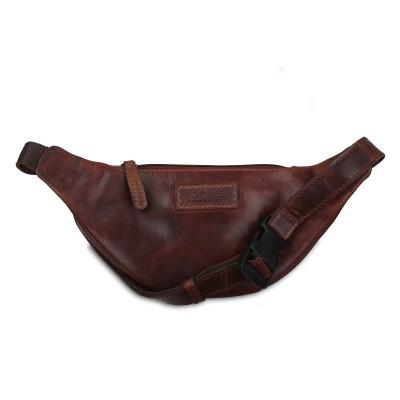 Поясная сумка Ashwood Leather Ed Vintage Tan