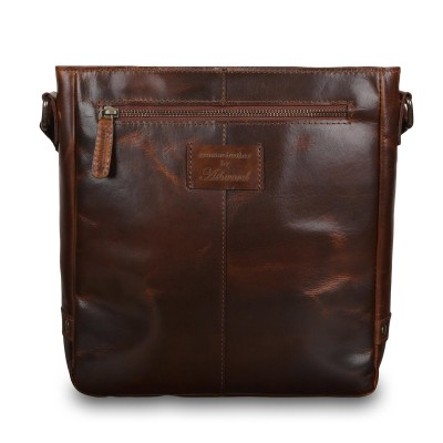 Мужская сумка через плечо Ashwood Leather Darcy Copper Brown