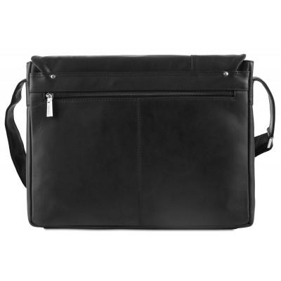 Мужская сумка через плечо Visconti Foster 16072 Oil Black