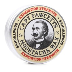 Captain Fawcett Expedition Strength Moustache Wax - Воск для усов 15 мл