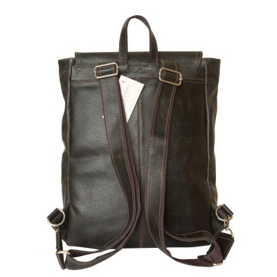 Кожаный рюкзак мужской Carlo Gattini Montalfano brown (арт. 3065-04)