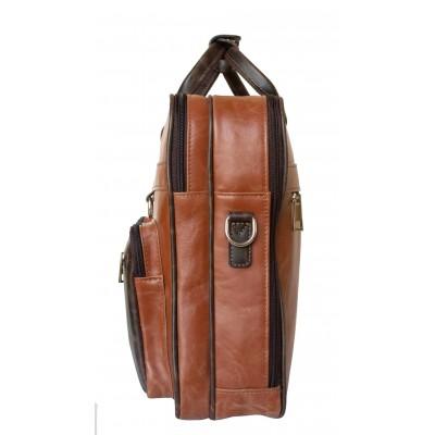 Мужская сумка Lamberto cog/brown (арт. 1008-03)