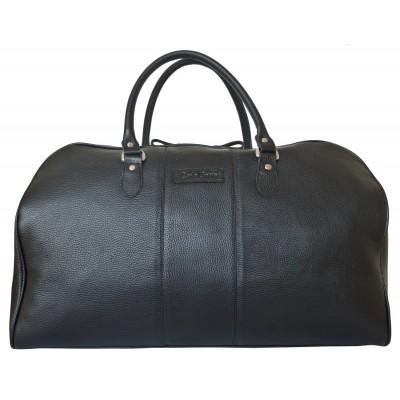 Кожаная дорожная сумка Campelli black (арт. 4014-01)