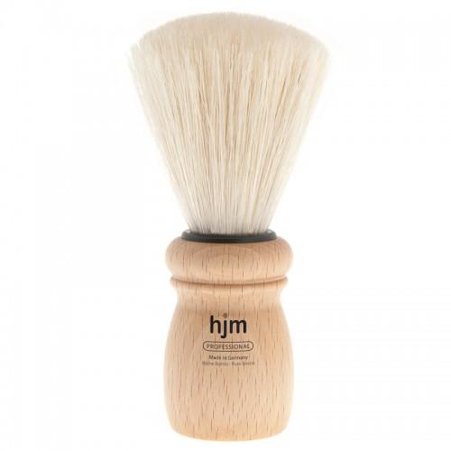 Hjm - Помазок профессиональный, щетина кабана, светлый бук, размер Xl