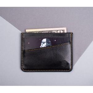 Кардхолдер Sneek slim wallet black X tan