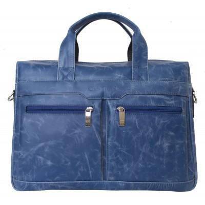 Мужская сумка Lugano blue (арт. 1007-07)