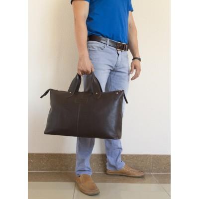 Кожаная дорожная сумка Carlo Gattini Cassolo brown (арт. 4002-04)