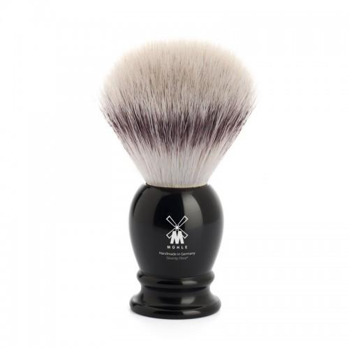 Muehle Classic - Помазок, фибра высшей категории Silvertip, черная смола, размер L