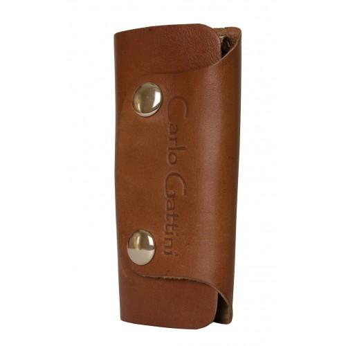 Кожаная ключница Nemi brown (арт. 7101-03)