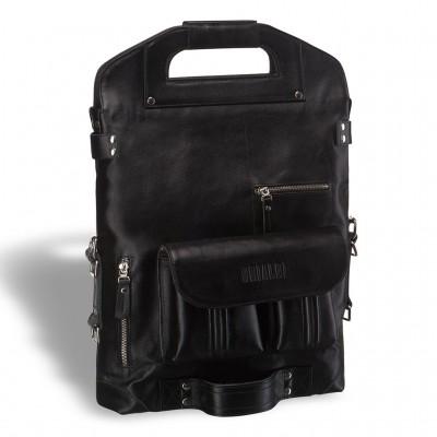 Универсальная сумка - трансформер BRIALDI Flint (Флинт) black edition