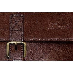 Сумка через плечо Ashwood Leather Murphy Chestnut Brown