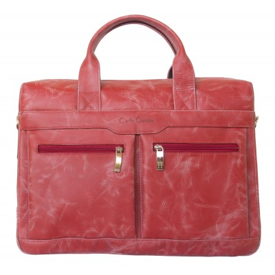 Мужская сумка Lugano red (арт. 1007-09)