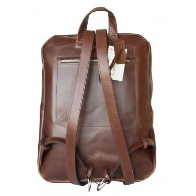 Мужской рюкзак из натуральной кожи Carlo Gattini Lanciano brown (арт. 3066-02)