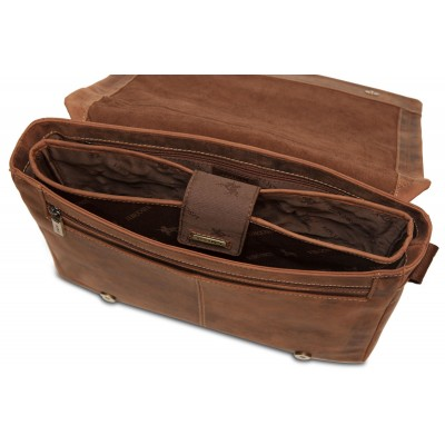 Мужская сумка через плечо Visconti Foster 16072 Oil Tan