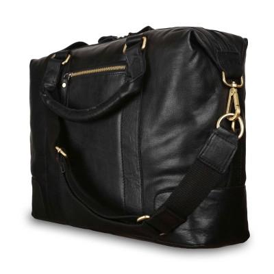 Кожаная деловая сумка Ashwood Leather G-34 Black