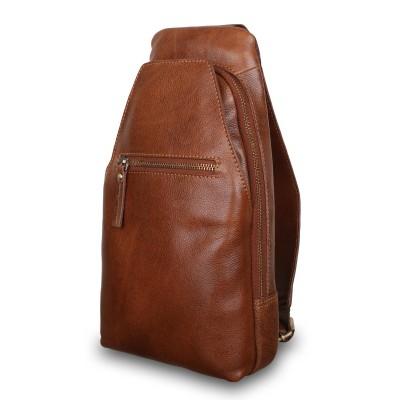Кожаный рюкзак мужской Ashwood Leather M-53 Tan