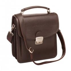 Мужской портфель из натуральной кожи Bishop Brown