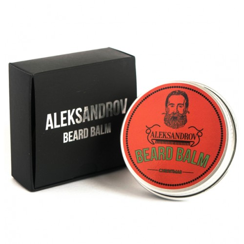 Aleksandrov Beard Balm Christmas - Бальзам для бороды Рождество 30 гр