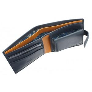 Бумажник Visconti PM100 Vincent Blue/Must