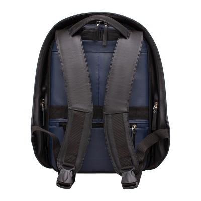 Кожаный рюкзак мужской Blandford Dark Blue/Black