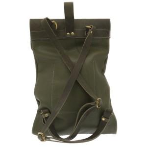 Мужской рюкзак из натуральной кожи RELS Slim 84 1365