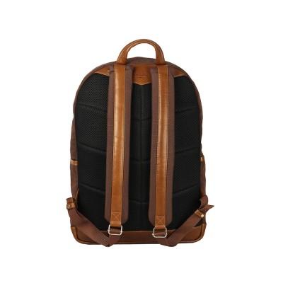 Мужской рюкзак из натуральной кожи Rugby Brown x Tan