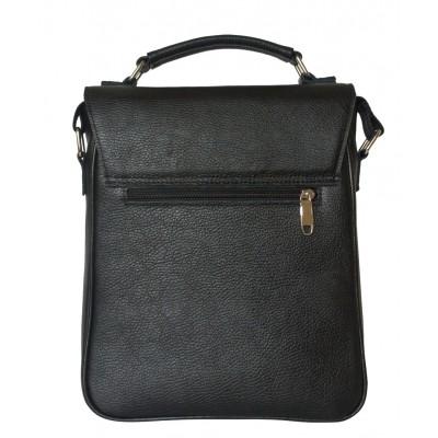 Мужской портфель из натуральной кожи Carlo Gattini Rovetta black (арт. 5042-01)