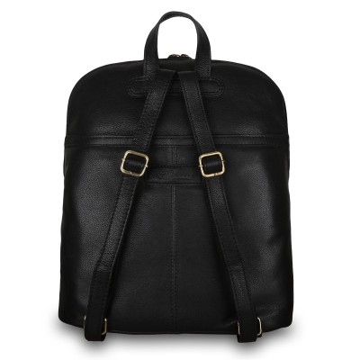 Кожаный рюкзак мужской Ashwood Leather M-66 Black