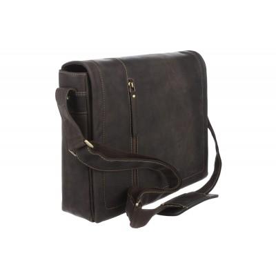 Мужская сумка через плечо Visconti Foster 16072 Oil Brown