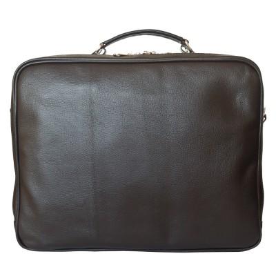 Кожаная мужская деловая сумка Palotto brown (арт. 5032-04)