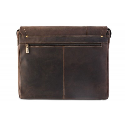 Мужская сумка через плечо Visconti Foster XL 16073 Oil Brown