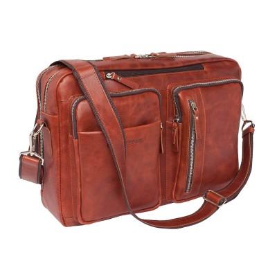 Деловая сумка Lakestone Edmund Redwood